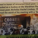 For those who might ask why do they call it busboys and poets?