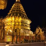 Wat Soi Dothep before sunrise