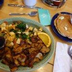 My veggie breakfast at Walnut Cafe