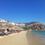 Elia Beach near the hotel