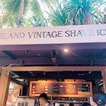 Island Vintage Shave Ice Photo