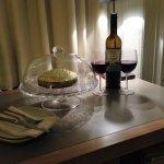 Wine and Cake Honeymoon Celebration