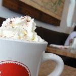 Hot chocolate was divine