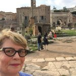 Beth at the Roman Forum