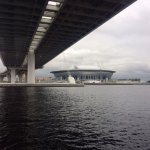 Krestovsky St Petersburg FC Zenit Arena used for FIFA World Cup 2018...cost $1.5bn !