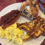 Our breakfast buffet has quite a variety and is sure to please everyone!