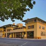 The last Frank Lloyd Wright Hotel in Mason City Iowa