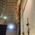 Otro ángulo del Cristo de la catedral.