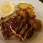 Pantopoleio Kali Orexi Nicosia Cyprus August 2017 - pork
