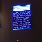 Bombs.