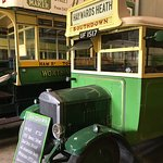 Busses at the Amberley museum.