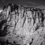 Rock climbing area