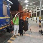 Llegada a Poroy(Cusco), 21 de Junio 2017