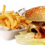 hamburguesa tradicional, res 150 gr, jamón, tocineta, cebolla sofreida ...