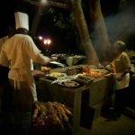 BBQ celebrating Harvest Full moon