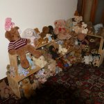 Just a few of the teddy bears