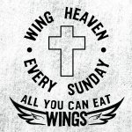 Wing Heaven - all you can eat wings every Sunday for £10