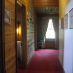 Private hallway as part of King suite