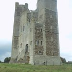 Orford Castle Keep from the South (September 2017)