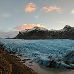 The Skaftafell glacier