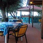 Breakfast/dining area at Karavos