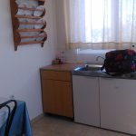 Basic Kitchen/dining area but very clean and adequate for breakfasts/snack preparation