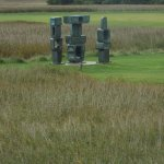 A sculptural setting on the edge of the Suffolk Coast & Heath ANOP at Snape Maltings