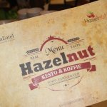 Menu Hazelnut