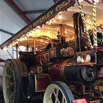 Beautiful traction engine
