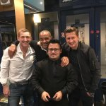 Steven Parish and friends.
