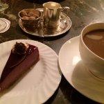 Seasonal Cheesecake & coffee