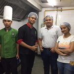Visit to the Pantry of Barbeque Nation