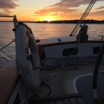 Sunset cruise on a warm October evening! Just perfect!