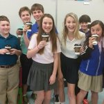 Kids at The Country School chose Rise Up Hot Chocolate for their special treat!
