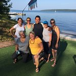 Strong Canadian women take on the outer island tour in the Apostles. Great trip with Jose from l