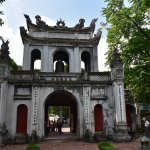 We went to the Temple of Literature which is one of the most famous and oldest landmarks of Hano