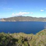 Golfo di Lacona vista dal punto più alto del promontorio