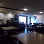 Super 8, Off I-90,, Erie, PA. VERY NICE BREAKFAST ROOM.
