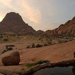 Rock Pool at sunset