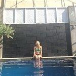 Quiet sunny pool