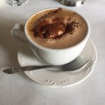 The mocha - high quality coffee, whipped cream and chocolate; greater than the sum of its parts