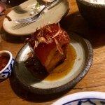 Succulent pork belly!