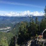 Vista desde o alto da montanha