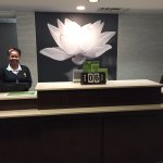 Front Desk - check in employee with amazing customer service