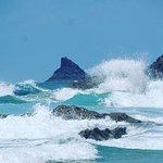 Foto de Treyarnon Bay Beach