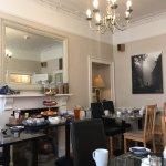 Light, bright and lovely breakfast room.