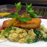 Salmon Over Couscous