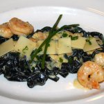 Black Pasta with Shrimp