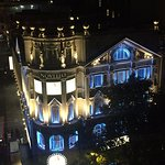 View of the Novello Theatre from our balcony