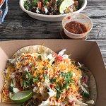 Fish Tacos and Burrito bowl-exquisite